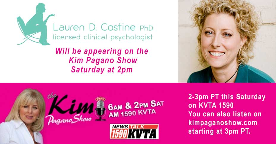 Dr  Lauren Costine Appearing on the Kim Pagano Show